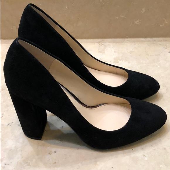 Black Suede Jessica Simpson Heels